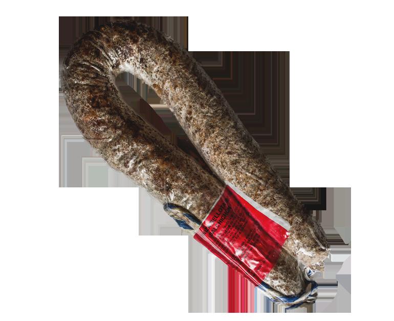 Longaniza de salchichón ibérico bellota