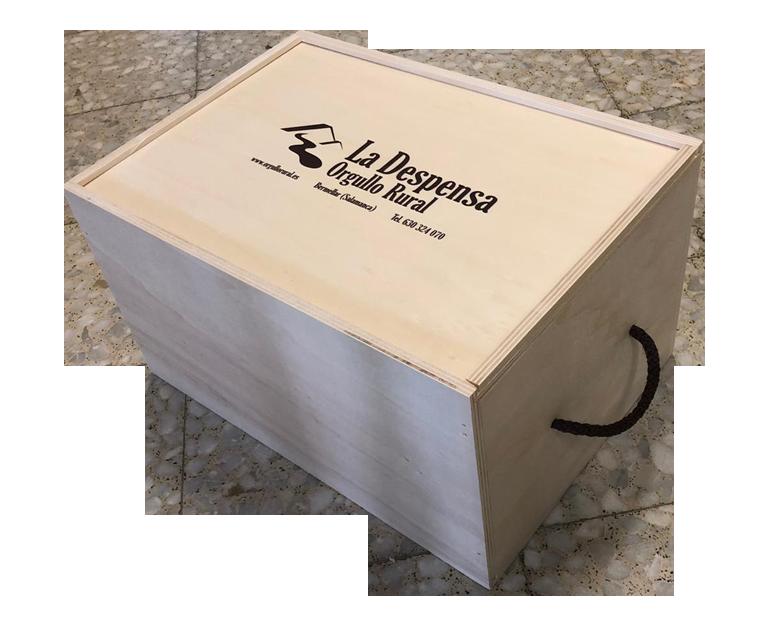 Caja regalo de madera